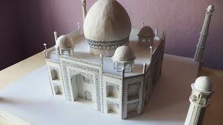 ALL VIDEOS (5x)   How to make a model of Taj Mahal