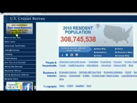 How to Use Census Bureau Data Tools