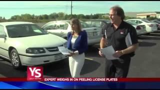 NYS Peeling License Plates Investigation
