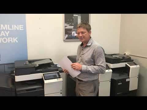 Konica Minolta: The Easy Way to Print on Thick Paper