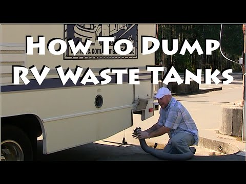 How To Drain RV Holding Tanks & Tips