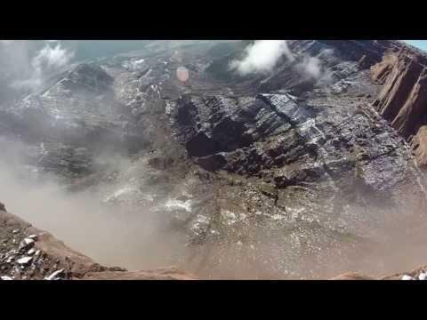 Scotty-Bob Wingsuit Fly-by: Moab Wingsuit BASE Jump