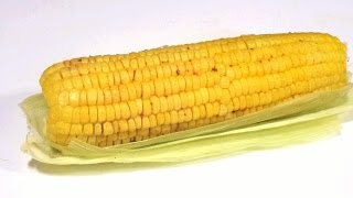 Easy Cook Microwave Corn On Cob In Indian Style Fastest Way Indian Bh