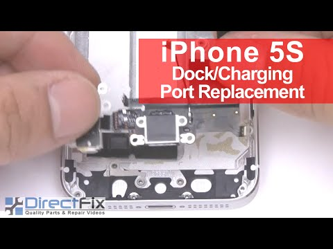 iPhone 5s Charging Port Replacement in 4 Minutes