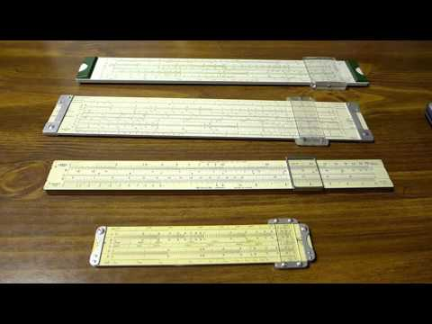 How to Use a Slide Rule 2: Trig, Log, and Log-Log Scales