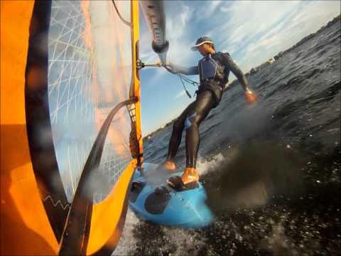 Windsurfing at Hoofer Sailing Club