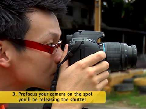 Shooting moving subjects, Digital Home DIY