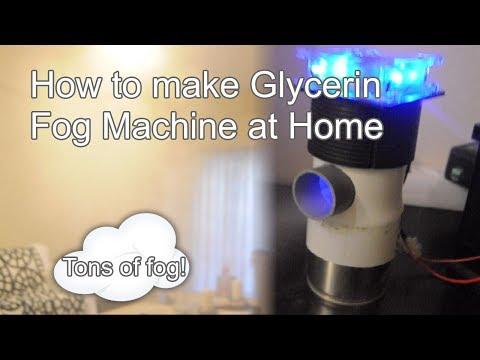 How to make Glycerin Fog Machine at Home
