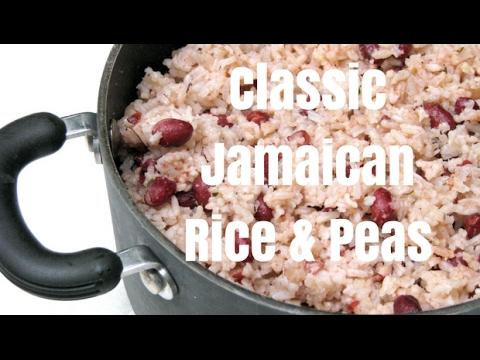 Classic Jamaican Rice & Peas Recipe