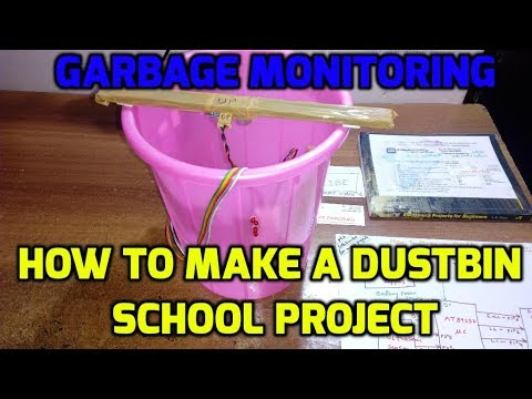 How to Make a Dustbin School Project