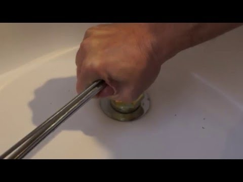 Bathtub drain removal and install