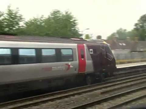 Train Action At Oxford!