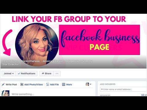 How to Link Your Facebook Group to Your Facebook Business Page