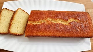 Pound Cake Recipe, Easy, Simple.Best Pound Cake loaf cake , Vanilla White Cake Eid recipes کیک ساده