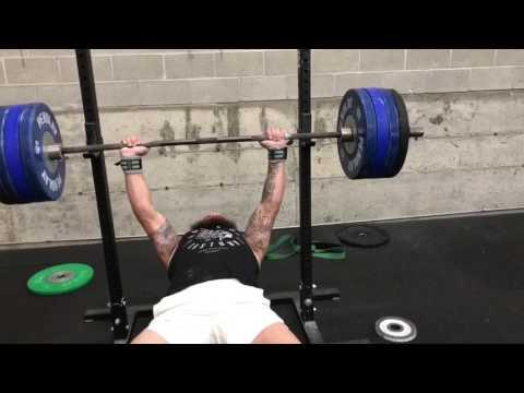 360lb Bench Press