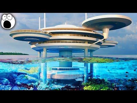 Top 10 AMAZING Underwater Buildings That Actually Exist