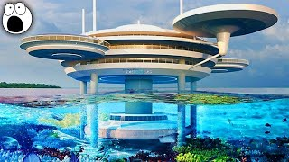 Top 10 AMAZING Underwater Buildings That Actually Exist