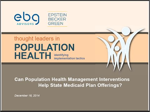 Can Population Health Management Interventions Help State Medicaid Plan Offerings?