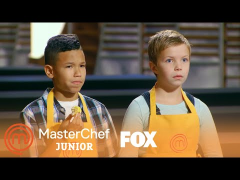 The Contestants Pair Up For The Three Legged Challenge | Season 6 Ep. 7 | MASTERCHEF JUNIOR