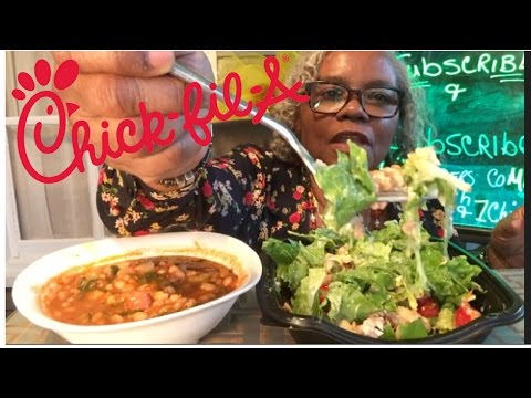 CHICK FIL A COBB SALAD AND HOW TO MAKE VEGETABLE SOUP