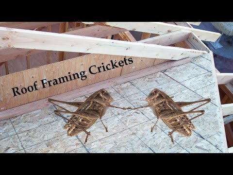 How To Build A Roof Drainage Cricket – Home Building Ideas