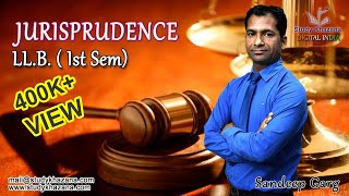 Download LLB Semester 1- Jurisprudence Online Courses in India by S K Garg   Study Khazana Video
