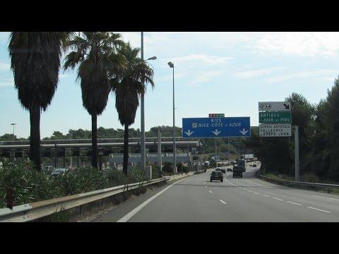 France: A8 Cannes / Nice
