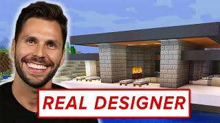 """A Real Architect Builds A Mansion In """"Minecraft"""""""