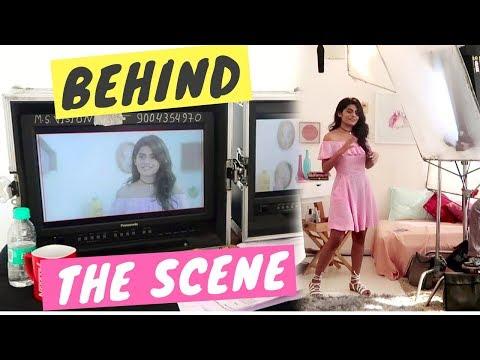 Behind the scenes of a big shoot   #DhwanisDiary