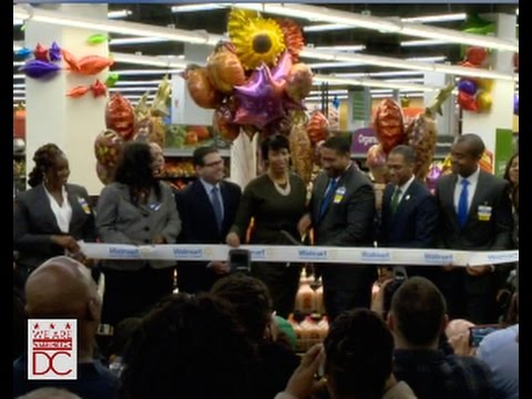 Mayor Bowser Celebrates Opening of 'Walmart at Fort Totten Square' 10/28/15
