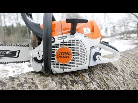 Stihl's New MS 462 Chainsaw - Review
