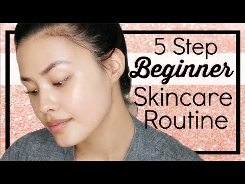 Basic & Minimal Skincare Routine for Beginners Using Multi-Tasking Products