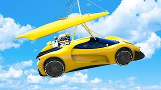 ULTRALIGHT TO SUPERCAR! - GTA 5 Funny Moments #733