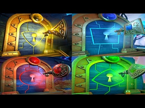 PVZ Garden Warfare 2: ALL 4 TRIALS OF GNOMUS Challenges Guide! (RED,BLUE,GREEN,YELLOW)