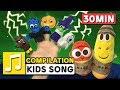 HALLOWEEN FINGER FAMILY LARVA KIDS SUPER BEST SONGS FOR KIDS HALLOWEEN SONG