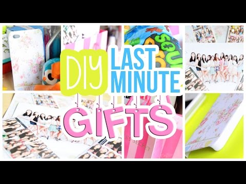 Quick Easy Cheap DIY Last Minute Gifts For Friends Etc