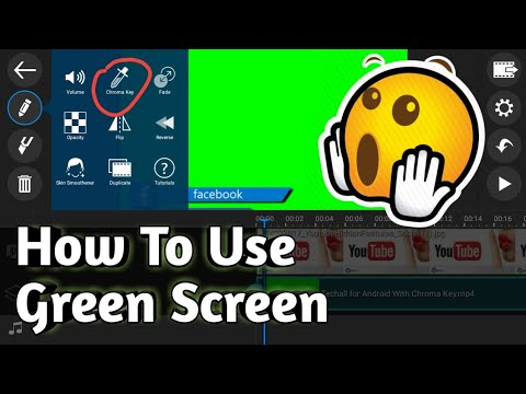 How To Use Croma Key In Powerdirector | How To Use Green Screen