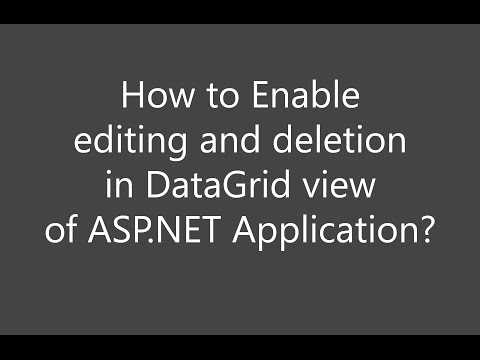 How to get Enable editing and Enable Deleting checkbox in GridView Tasks in ASP.NET application ?