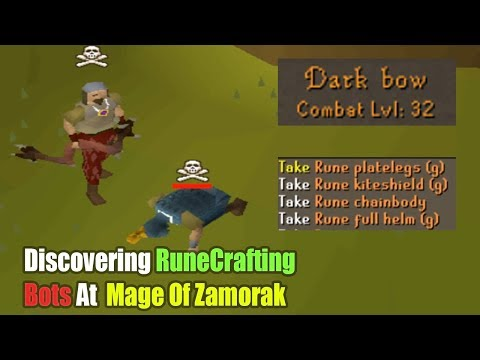 Pking Tons Of RuneCrafting Bots With A Dark Bow Pure
