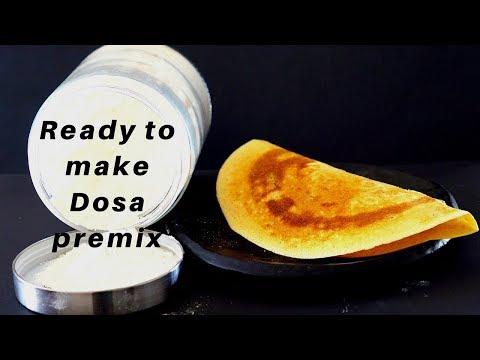 Ready to Make Dosa Premix - How to Make Dosa Batter - South Indian Dosa Recipe