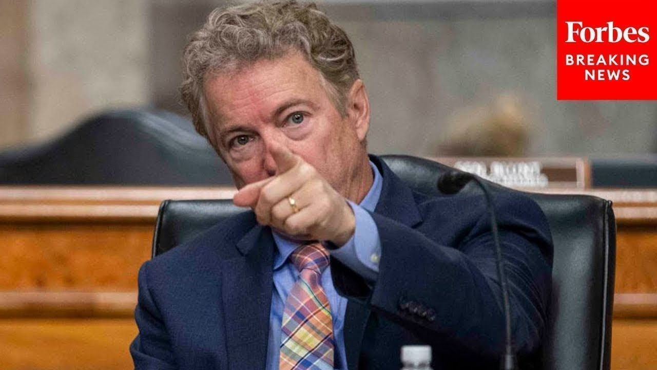 """""""You Will Not Answer The Question"""": Rand Paul Grills Biden Nominee In Tense Exchange"""