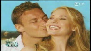 Sposami ancora - Francesco Totti e Ilary Blasi di nuovo sposi - La Vita in Diretta 07/04/2015