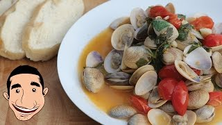 Steamed Clams Recipe Vongole Italian Recipes