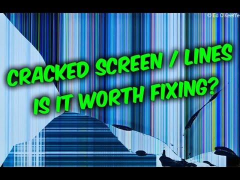 Is it worth it to fix broken LCD screen- TVs laptops phones tablets