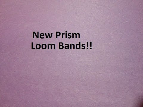 New Prism Loom Bands!!!!