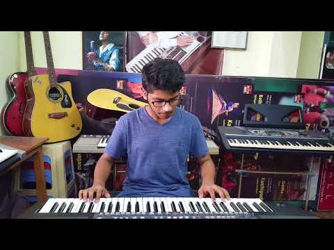 bharat ane nenu title song keyboard cover by p.v.satyanarayana