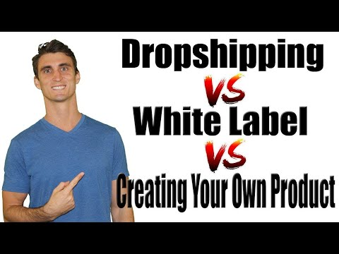 Dropshipping vs  White Label Vs  Creating Your Own Product | Effective Ecommerce Podcast #6