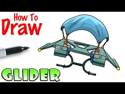 How to Draw a Glider | Fortnite