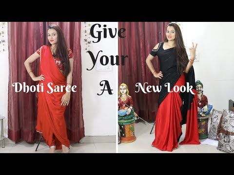 Make Your Own Designer Saree From Old Saree In Just Rs. 100