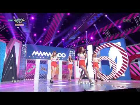 [HIT] 뮤직뱅크 - 컴백 마마무, 러블리+파워풀 실력파 무대..'음오아예'. 20150619